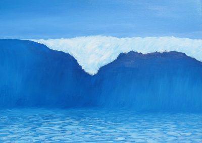 A Big Wave, 40x30