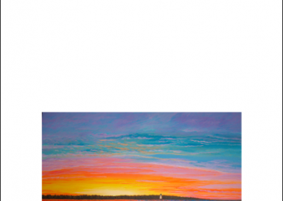 Edgartown Sunset card
