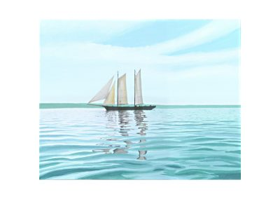 Becalmed in the Sound