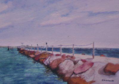 Salters Point Pier Rocks