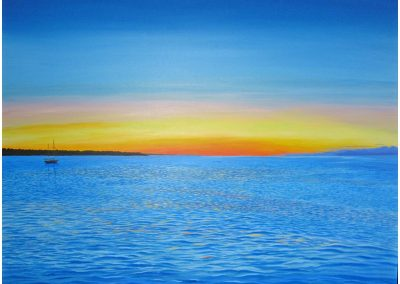 Tarpaulin Cove Sunrise, 40x30