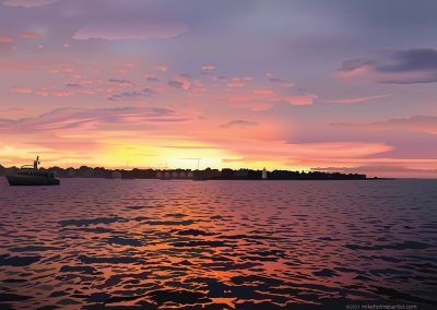 Edgartown Harbor Sunset